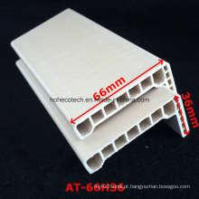 at-66h36 WPC Porta Architrave WPC Porta Moldura PVC Foamed Porta Architrave