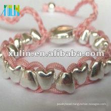 Rio friendship silverbeaded bracelet by handmade shamballa XLSBL076