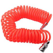 Tubo espiral do poliuretano da recuo da mangueira de ar do plutônio de 10x6.5mm