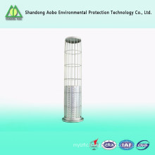 Industrial dust collector filter bag cage with venturi
