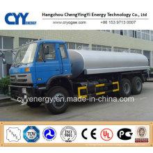 Chine 2015 LNG Semi-remorque à citerne à base d'oxygène liquide à oxygène liquide à GNL