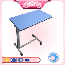 BDCB22 Medical hospital dining table, Over-bed Table With Wheels, Hospital Table