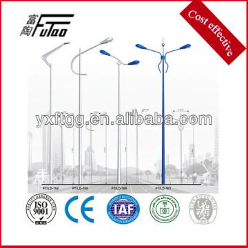 6-12meters single or double arm steel lamp post