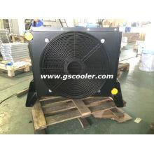 Trocador de calor de aleta de chapa soldada para venda