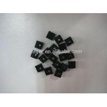 peças de extrusão de alumínio anodizado