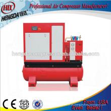 Compressor de ar combinado de 30HP / 10bar com tanque, secador, filtro