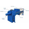 Filtro prensa de óleo vegetal pequeno custo da máquina de filtragem