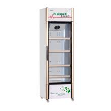 Revestimiento de alta calidad de cristal puerta de almacenamiento de medicamentos de refrigeración