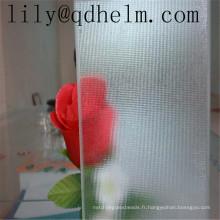 Verre d'impression décoratif, verre feuilleté de modèle pour le verre de douche