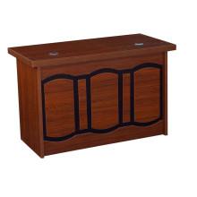Mesa de computador de madeira