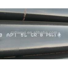 API Spec 5L GrB aço carbono tubo sem costura ANSI B36.10