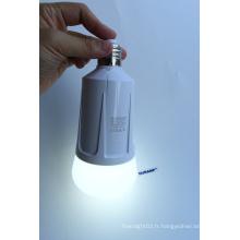 Éclairage d'urgence à double batterie de remplacement