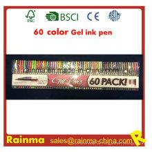 Top Qualität 60 Farbe Gel Ink Pen Set
