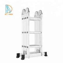 Escalera multiusos 4X3 con longitud 3,46 m de aluminio
