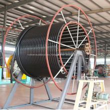 Tubería de material compuesto flexible de alta presión con transmisión en alta mar