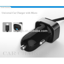 2015 NEW ARRIVALS universal car charger with micro for phones