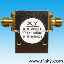 Aisladores pasivos Rf 6-12GHz Conector SMA / N 10W