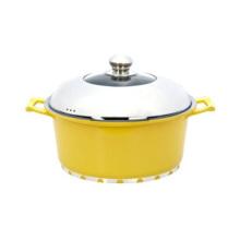 Céramique revêtement de cuisine et casseroles Hot Pot