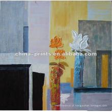 Pintura abstrata da arte da parede da lona para a decoração