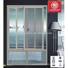 Venta caliente / nuevo diseño / populares ventanas y puertas deslizantes de aleación de alumium