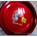 2015 placa de acero inoxidable del color rojo al por mayor