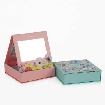 Creative Book Shaped Gift Box with Mirror
