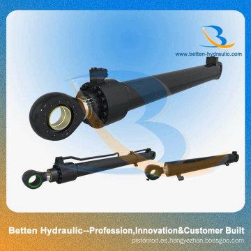Cilindro hidráulico personalizado construido con el mejor precio