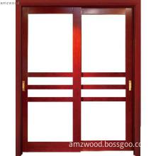 Guangzhou Manufacturer Glass Style wooden door