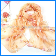 latest design printed chiffon georgette scarf