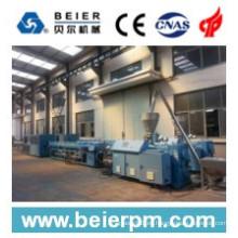 Línea de la máquina de la protuberancia / de la producción plásticas del tubo / del tubo de 20-63mm PVC dual
