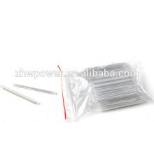 Manga de protección de empalme de fusión de fibra óptica estándar de 1000pcs SUMITOMO 45 mm, manga de protección de plástico, tubo de encogimiento de calor de 45 mm