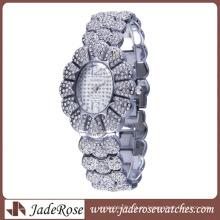Reloj vendedor caliente del regalo de las señoras de lujo (RB3106)