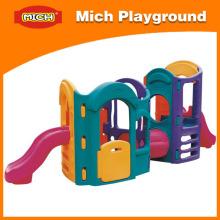 Children Indoor Plastic Slide Playground (1195C)