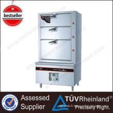 Pour le cuiseur vapeur écumant globalement luxueux d'équipement de cuisine de Restautant 400L