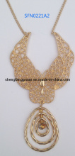 Fashion Alloy Jewelry Pendant Necklace (SFN0221A)