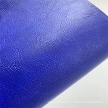 Couro sintético PU couro sintético texturizado