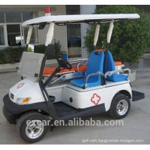 Electric Fuel Type and 2 seat ambulance cart with functional bed golf cart for sale