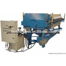 Prensa de filtro Leo Prensa de filtro de placa y marco de alta presión