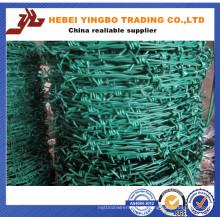 Arame de arame farpado galvanizado de 2,0 mm / Farpado galvanizado quente