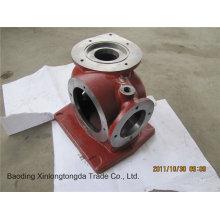 Sand Casting Stahl Ventilgehäuse mit CNC-Bearbeitung