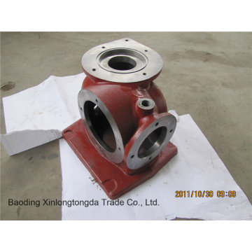 Sand Casting Steel Valve Housing with CNC Machining