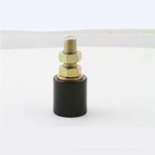 30 * 40 mm Schwarz-Weiß-Nylon-Riemenscheibe / Kunststoff-Riemenscheibe