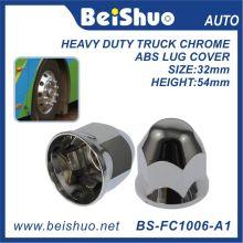 33mm Cromado plástico ABS Lug Nut tampas para caminhão