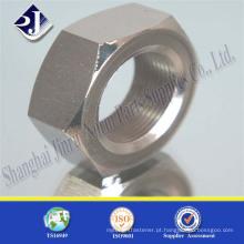 Porca hexagonal de aço carbono ASTM A194 2H de alta resistência