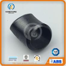 Raccord en acier au carbone en acier au carbone Wpl6 45D coude avec TUV (KT0302)