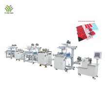 Electronic tape converter die cutting production line