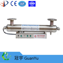 UV water system for ballast water