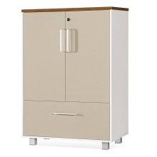 2 Türen 1 Schubladen Büro Aktenschrank (FOH-8B-07)