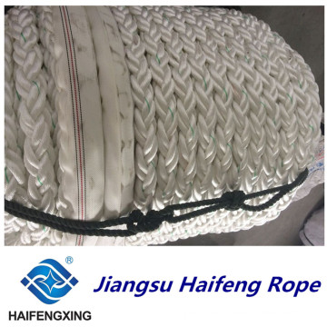 8-Strand Chemical Fiber Ropes Mooring Rope PP Rope Polyester Rope PE Rope