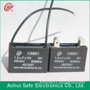 CBB61 capacitor by mpp film